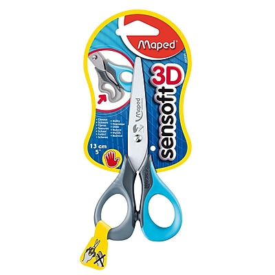 Maped USA Sensoft 3D Scissors, Blunt Tip, 5