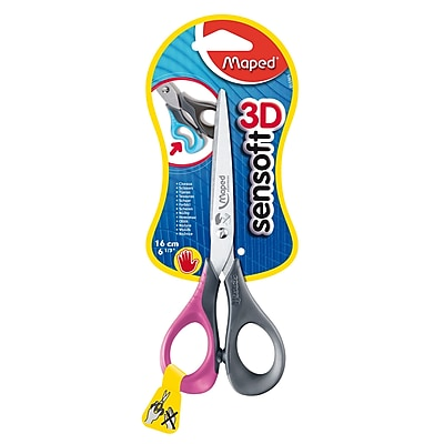 Maped USA Sensoft 3D Scissors, Blunt Tip, 6.33