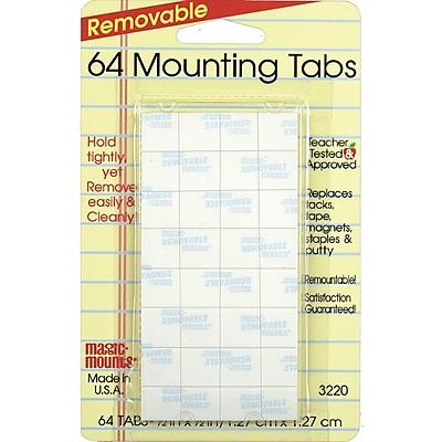 Miller Studio Magic Mounts® Mounting Tabs, 1/2