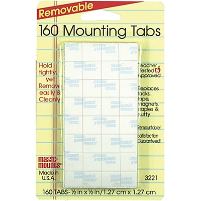 Miller Studio Removable Tabs, 1/2