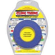 Miller Studio Cling Thing Self-Sticking Display Strip Mounting Tape, 5.75W x 7.5L, Blue, 1 Each (MIL3289)