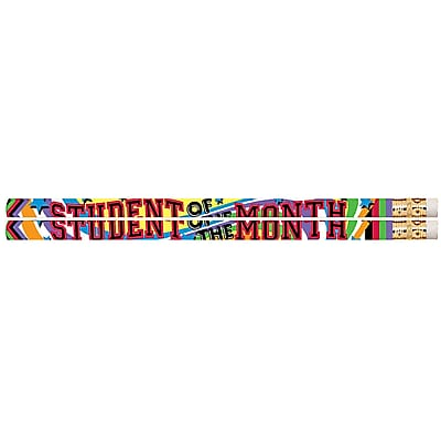 Musgrave Student of the Month Pencil, No. 2, 12 packs of 12 (MUS2475D)