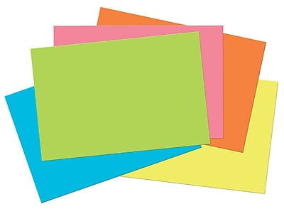 """""Tru, Ray Hot Color Sulphite Construction Paper, 18"""""""" x 12"""""""", 50 / Pack"""""" 2126966"
