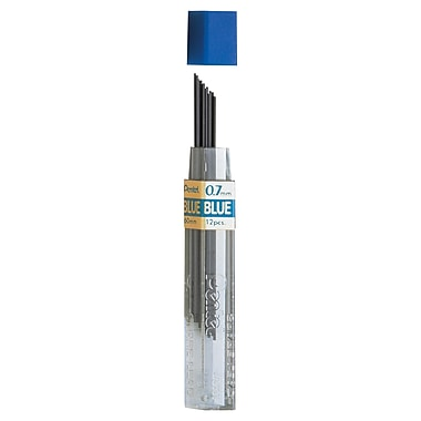Pentel® Refill Lead Blue, 12/Set