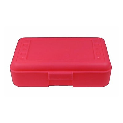 Romanoff Products Pencil Box, Hot Pink (ROM60207)