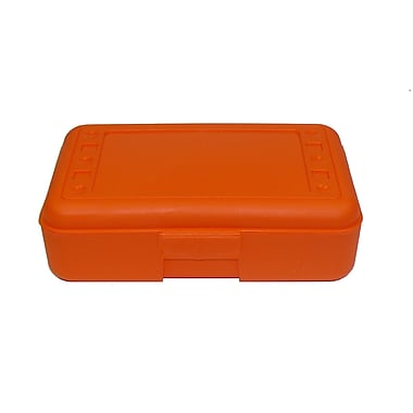 Romanoff Products Pencil Box, Orange, 12/Set (ROM60209)