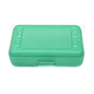 Romanoff Products Pencil Box, Lime Sparkle (ROM60285)