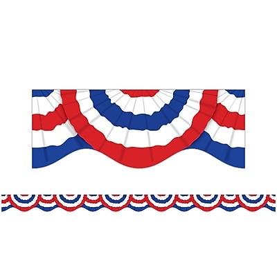 Scholastic Patriotic Bunting Trimmer (36 x 2.25) (SC-541759)