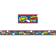 Teacher Created Resources Superhero Straight Border Trim (37.5 x 3.5)