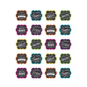 Chalkboard Brights Stickers, Pack of 120 (TCR5618)