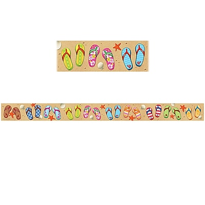 Teacher Created Resources Flip Flops Border Trim (36 x 3)