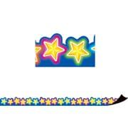 Teacher Created Resources Magnetic Borders, Neon Stars (24 x 1.5)