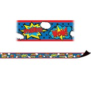Teacher Created Resources Superhero Magnetic Strips (12 x .75)