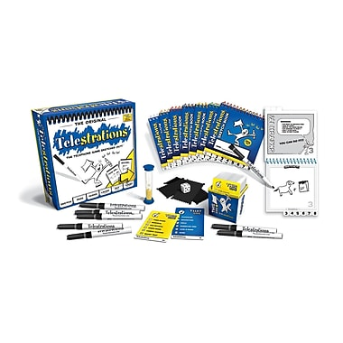 USAopoly Telestrations® 8 Player - The Original (USAPG000264)
