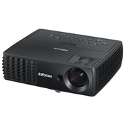 InFocus® IN1116 WXGA 1080p HDTV 3D Ready DLP Projector, Black
