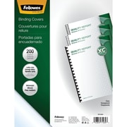 Fellowes® 5204303 Crystals Clear PVC Binding Covers