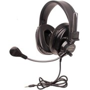 Califone Deluxe Stereo Headset W/To Go Plug Via Ergoguys