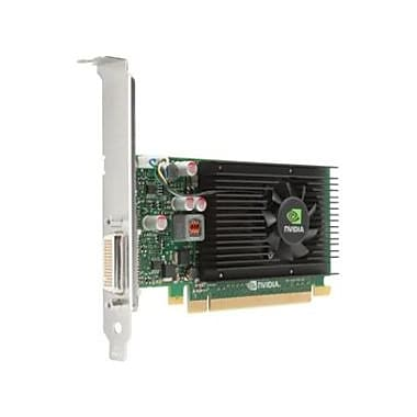 HP Quadro NVS 310 Graphic Card, 1 GB DDR3 SDRAM, PCI Express 2.0 x16, Lowprofile, (M6V51AT)