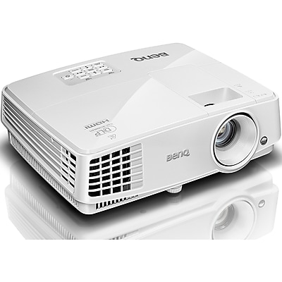 BenQ MW526A WXGA Eco-friendly Business DLP Projector, White IM13E8933