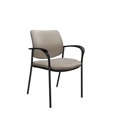 Global® (6900 MT20) Sidero Guest & Reception Chair, Match Desert Fabric, Tan