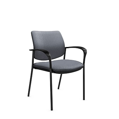 Global® (6900 MT30) Sidero Guest & Reception Chair, Match Grey Fabric, Grey