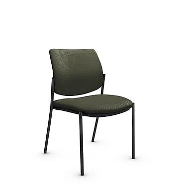 Global® (6901 MT22) Sidero Armless Guest & Reception Chair, Match Moss Fabric, Green