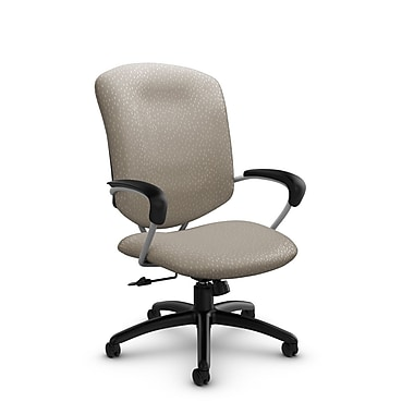 Global® (5330-4 MT20) Supra High Back Tilter Office Chair, Match Desert Fabric, Tan