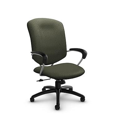 Global® (5330-4 MT22) Supra High Back Tilter Office Chair, Match Moss Fabric, Green