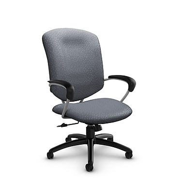 Global® (5330-4 MT30) Supra High Back Tilter Office Chair, Match Grey Fabric, Grey