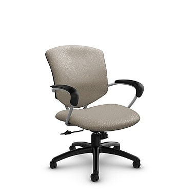 Global® (5331-4 MT20) Supra Mid Back Tilter Office Chair, Match Desert Fabric