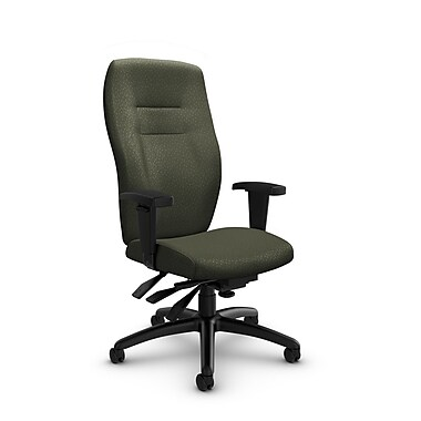Global® (5080-3 MT22) Synopsis High Back Multi Tilter Office Chair, Match Moss Fabric, Green