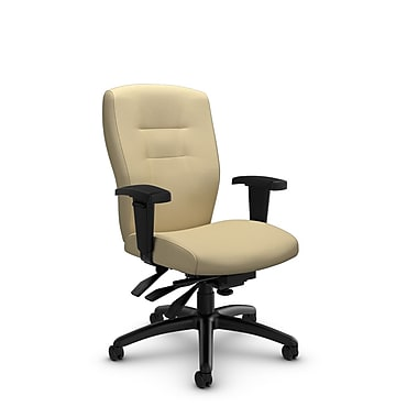 Global® (5081-3 IM70) Synopsis Mid Back Multi Tilter Office Chair, Imprint Fabric