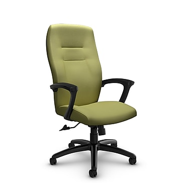 Global® (5090-4 IM78) Synopsis High Back Tilter Office Chair, Imprint Celery Fabric, Green