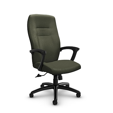 Global® (5090-4 MT22) Synopsis High Back Tilter Office Chair, Match Moss Fabric, Green