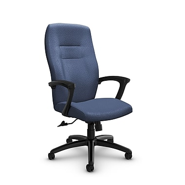 Global® (5090-4 MT25) Synopsis High Back Tilter Office Chair, Match Blue Fabric, Blue