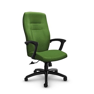 Global® (5090-4 MT27) Synopsis High Back Tilter Office Chair, Match Green Fabric, Green