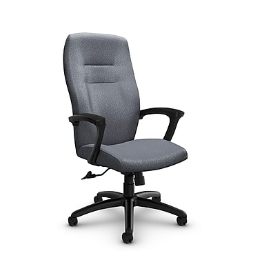Global® (5090-4 MT30) Synopsis High Back Tilter Office Chair, Match Grey Fabric, Grey