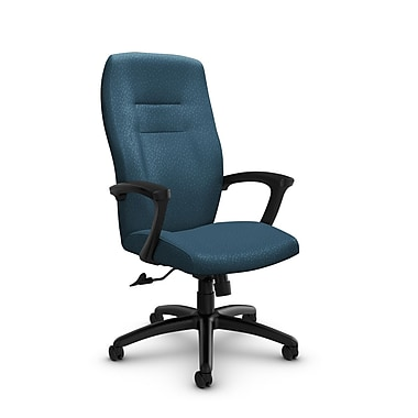 Global® (5090-4 MT33) Synopsis High Back Tilter Office Chair, Match Arctic Fabric, Blue