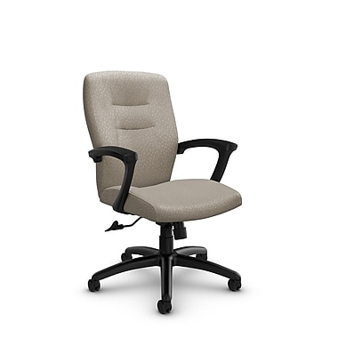 Global® (5091-4 MT20) Synopsis Mid Back Tilter Office Chair, Match Desert Fabric