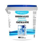 Modern Homes (99354) Lingettes nettoyantes pour fenêtre, 400 lingettes/seau