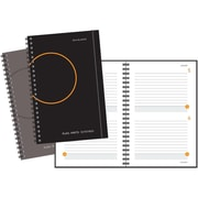 AT-A-GLANCE® Wirebound Two Days Per Page Planning Notebook, Assorted (806203)