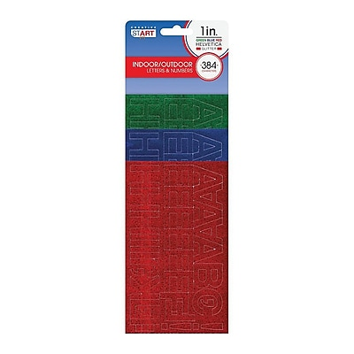 Cosco® Letter and Number, 1