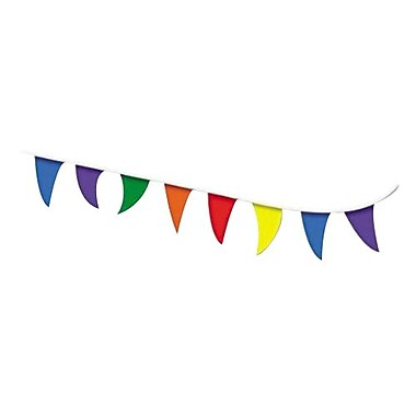 Cosco® Strung Pennant Flag, 8