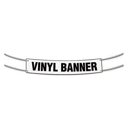 Cosco Blank Banner X Vinyl White Staples - Blank vinyl banners