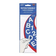 """Cosco® Repostionable Letter and Number, 1"""", White (98194)"""