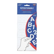 """Cosco® Repostionable Letter and Number, 2"""", White (98196)"""