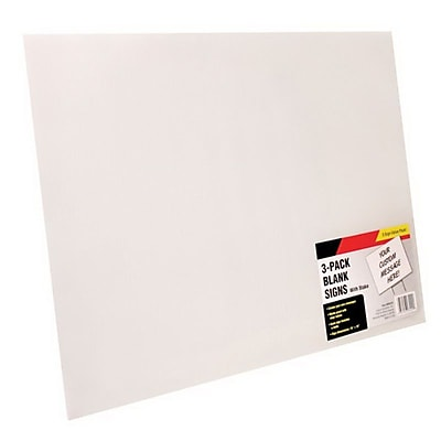 Cosco® Large Blank Sign, 15