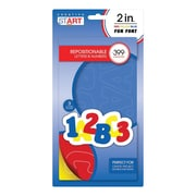 """Creative Start Self-Adhesive Characters Letter and Number, 2"""", Primary Blue Primary Red and Primary Yellow (98255)"""
