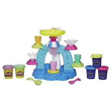 Hasbro Play-Doh Sweet Shoppe Swirl 'n Scoop Ice Cream Machine, 3+ Years (B0306)
