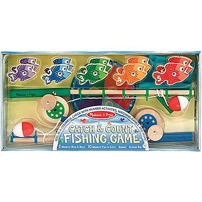 Melissa & Doug® Catch and Count Magnetic Fishing Rod Set, 3+ Years (5149)